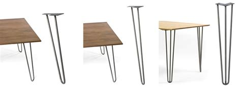 mid century desk legs 12 places to buy metal hairpin table legs raw steel