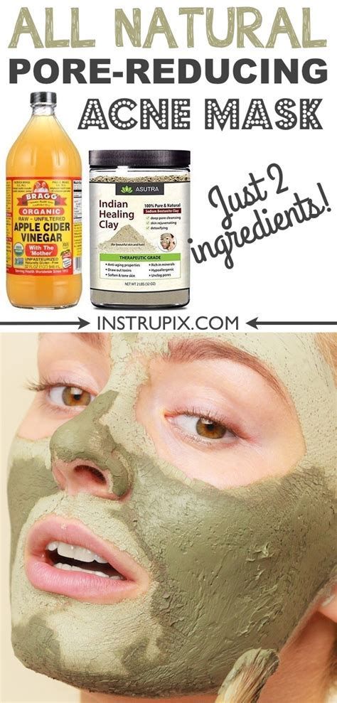 Homemade Face Mask For Acne and Blackheads (2 ingredients!)