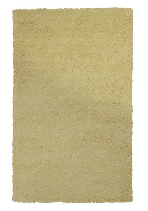 Kas Bliss Rug by Kas Bliss 1574 Canary Yellow Shag Area Rug Free Shipping