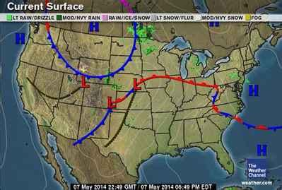 us weather map in may weather map