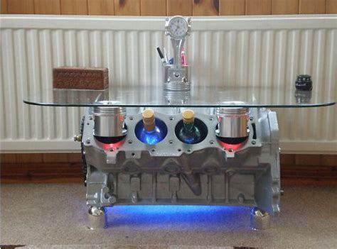 engine parts v8 coffee tables and furniture engine free