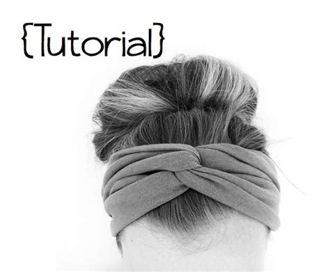 turban tutorial front side twist diy twisted headband do it yourself divas sewing