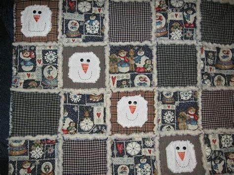 Snowman Rag Quilt Pattern by 17 Best Images About Rag Quilts On Snowman