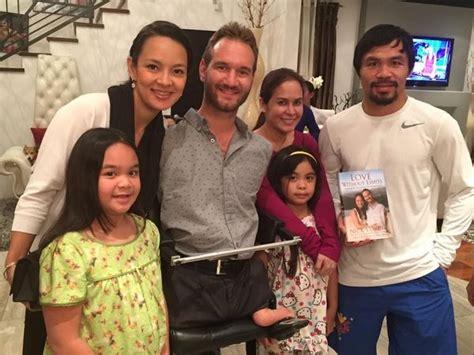 nick vujicic biography tagalog nick vujicic meets manny pacquiao ahead of floyd
