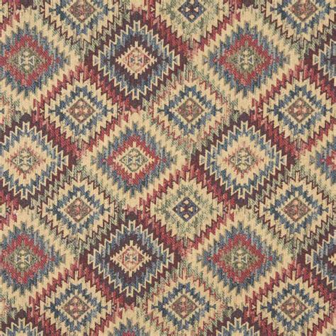 Navajo Upholstery Fabric by C99765 Navajo Sunset Chenille Upholstery Fabric