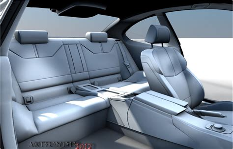 Bmw E92 Interior by Bmw M3 E92 Interior Wip Test Render2 By Artsoni3d On