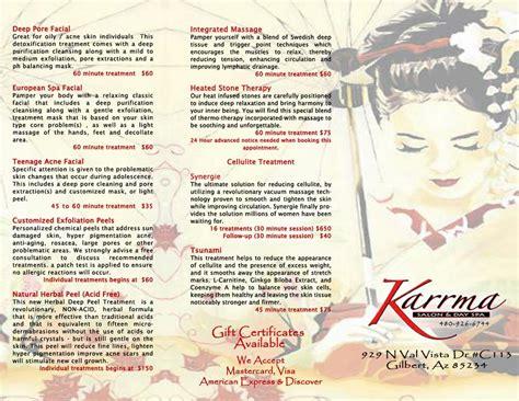 haircut coupons gilbert az karrma salon and day spa gilbert az 85234 480 926 6744