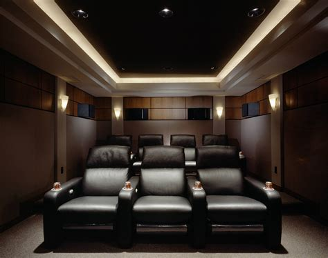 25 inspirational modern home theater design ideas
