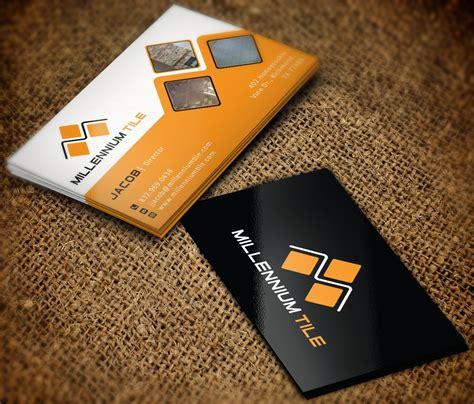 business cards designs templates for tile installer unique ceramic tiles visiting card kezcreative