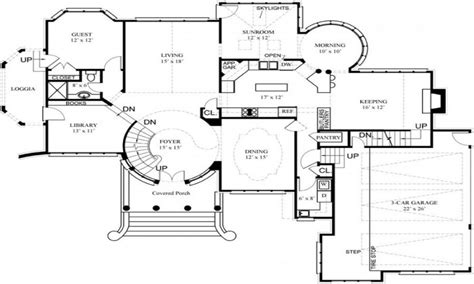 floor plans secret rooms luxury house floor plans and designs luxury home floor