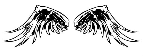 tato keren png gambar emaze berperanan sebagai utusan gambar sayap format