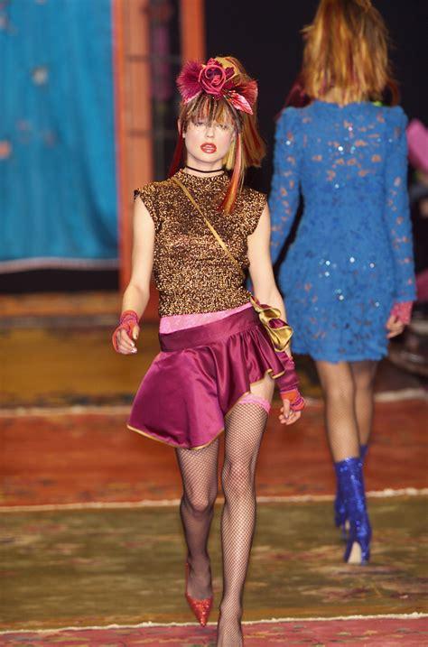 New York Fashion Week Betsey Johnson Catwalk by Betsey Johnson At New York Fashion Week Fall 2001 Livingly