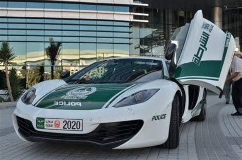 police mclaren dubai police mclaren 12c comes out to play