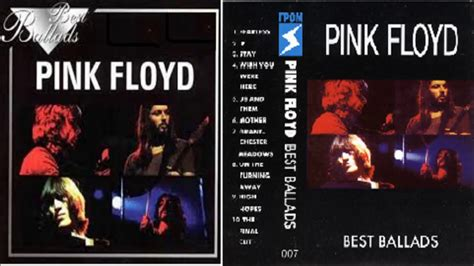 pink floyd best of pink floyd best ballads 1997