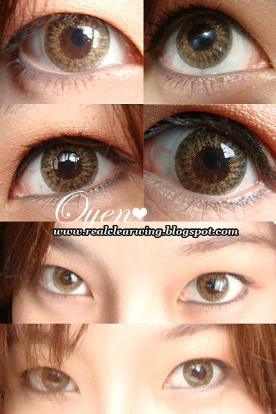 geo tri color brown fuckyeahcirclelenses