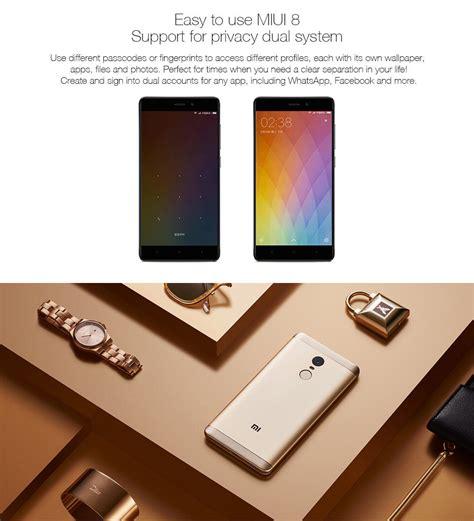 Xiaomi Note 4x Ram 3 Gb Rom 16 Gb Gold Berkualitas xiaomi redmi note 4x 3g ram 16gb rom smartphone sliver gray