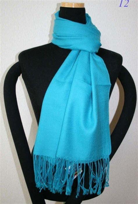 Pashmina Instan Aesha Sky Blue aliexpress buy sale new sky blue s silk pashmina shawl scarf solid colour