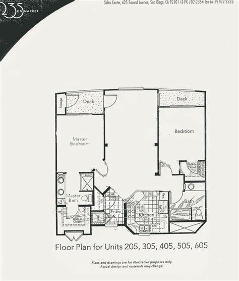 market floor plan 235 on market floor plan unit 205 305 405 505 605