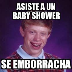 Baby Shower Memes - meme bad luck brian asiste a un baby shower se