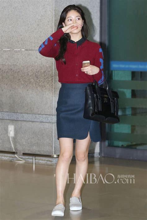 Blouse Wanita Susy 5 fesyen selebriti kpop suzy paling stailista di lapangan