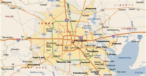 houston map baytown map of houston free printable maps