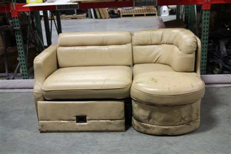 couch for rv rv furniture used rv motorhome recoverable flexsteel