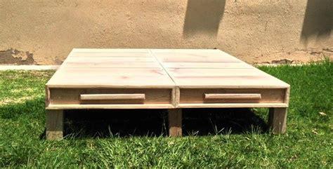 pallet bed platform diy pallet platform bed