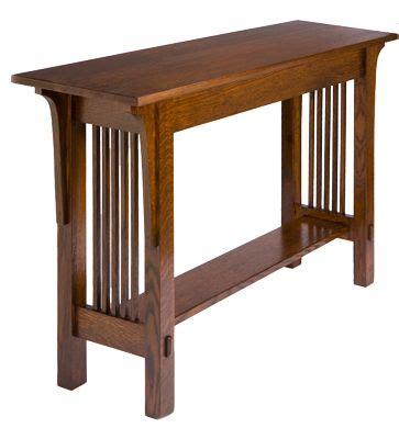 mission style sofa table mission style sofa table prairie gardens pinterest