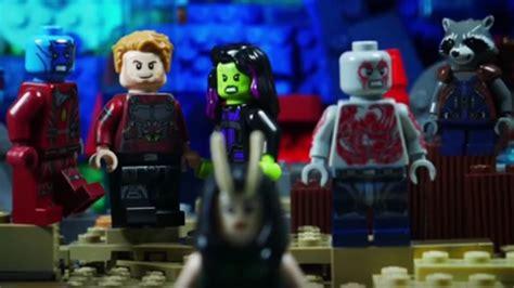Lego Guardian Of Galaxy 3 guardians of the galaxy vol 2 trailer gets the lego