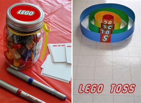 Lego Themed Birthday Games | homemaking fun a lego themed birthday party