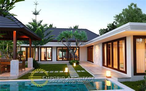 desain rumah resort modern desain rumah bali modern