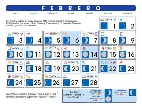de febrero de 2014 calendario lunar febrero de 2014