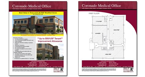 commercial real estate templates 6 best images of commercial real estate flyer templates