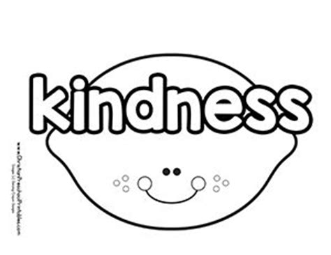 bible coloring pages about kindness 171 best images about kids fruit of the spirit on