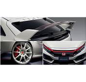 Honda Civic Type R Gets Real Carbon Wing Accessory In
