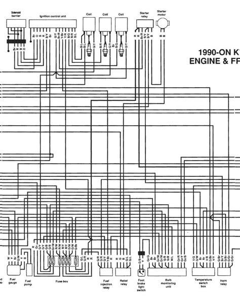 1992 bmw k75 wiring diagram 27 wiring diagram images
