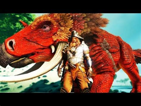the strongest tame! atlas shieldhorn dinosaur taming