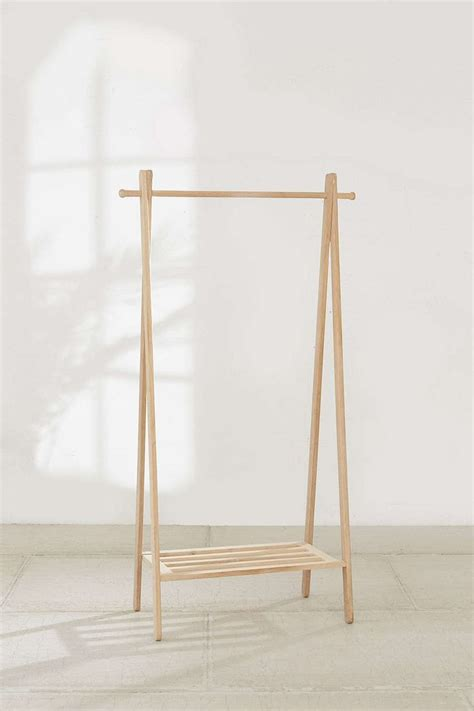 17 best ideas about wooden clothes rack on