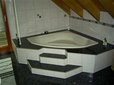 eck duschwand für badewanne badewannen design ablage