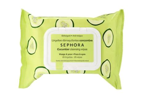Sephora Cleansing Wipes 25 Wipes sephora collection cleansing wipes cucumber 25 ct