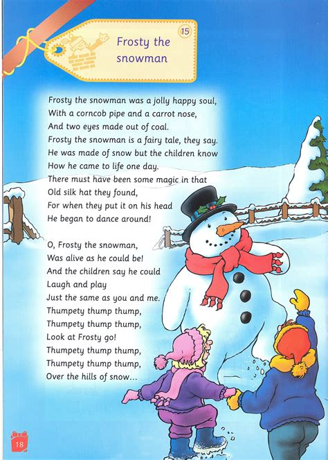 printable lyrics to frosty the snowman frosty the snowman quotes quotesgram