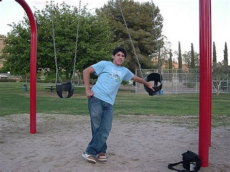 is swinging wrong man gets stuck in kiddie swing for nine hours after bet