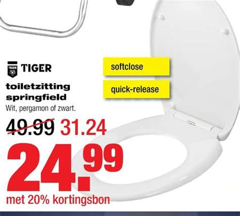 Praxis Tiger Wc Bril by Tiger Toiletzitting Folder Aanbieding Bij Praxis Details