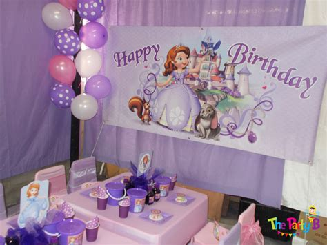 1st birthday decoration ideas at home sofia the first themed party cape town the party b