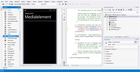 windows 10 xaml tutorial play an audio file in windows phone app using media