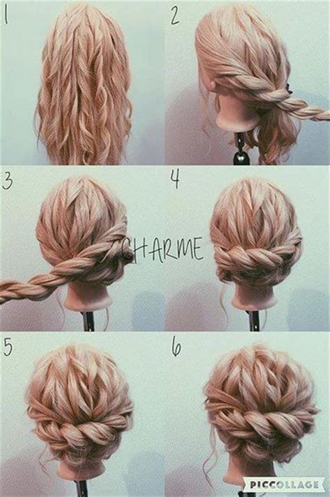 how to do fancy hairstyles for kids best 25 simple updo ideas on pinterest