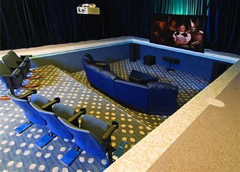 turning  indoor pool   home theater neatorama