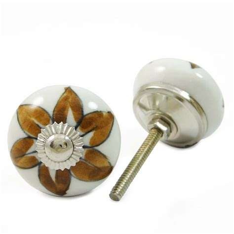 Indian Door Knobs by Indian Knob Ceramic Drawer Puller White Cabinet Knobs Door