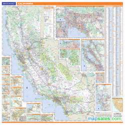 rand mcnally california map california map