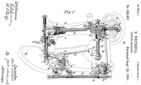 doodle mechanism museo de maquinas de coser y costura robert whitehill